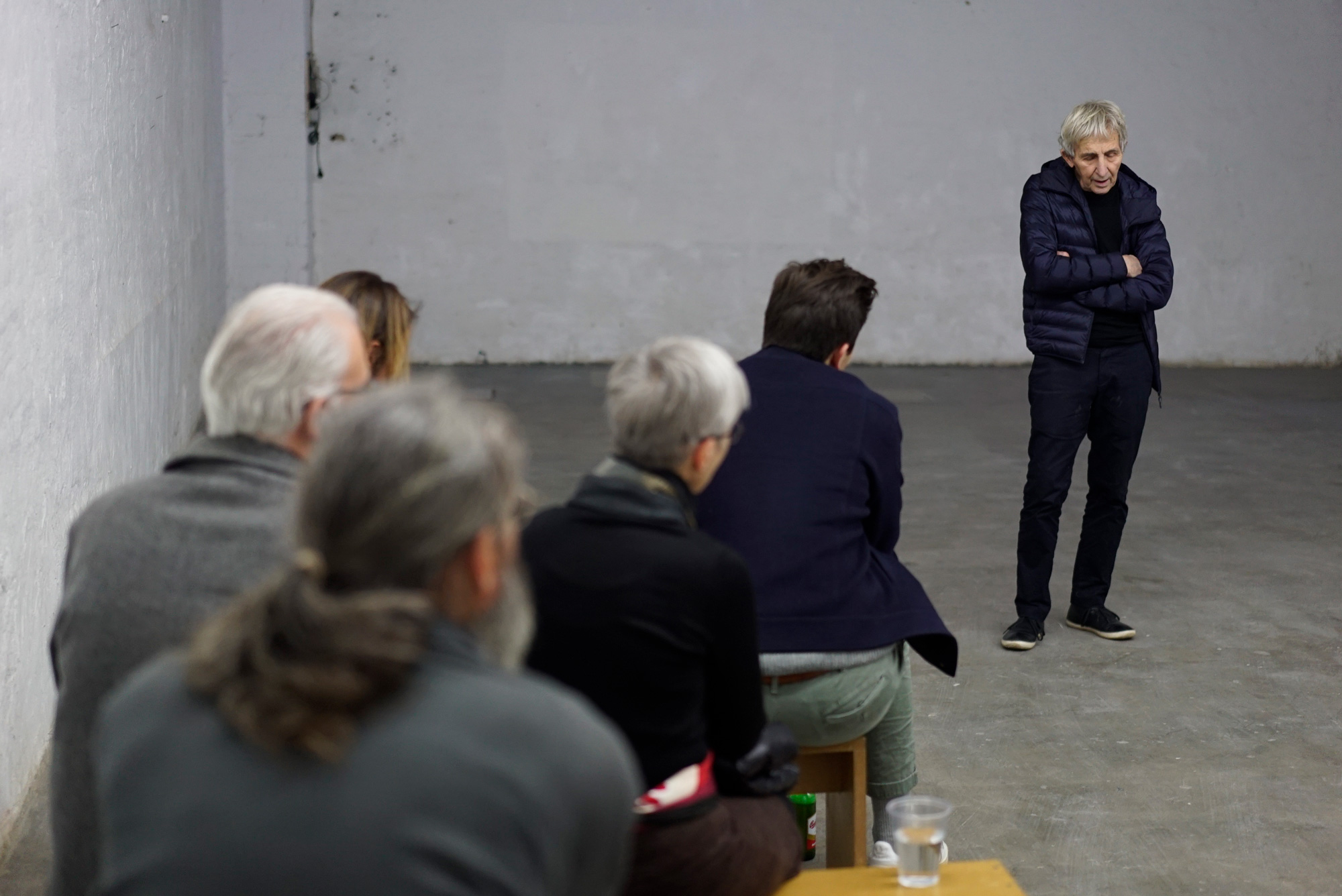 THE STORY OF GEORGE MACIUNAS AND FLUXUS by JEFFREY PERKINS - Jeffrey Perkins im Publikumsgespräch - 27.09.2019 Studio For Artistic Research Jeffrey Perkins Düsseldorf