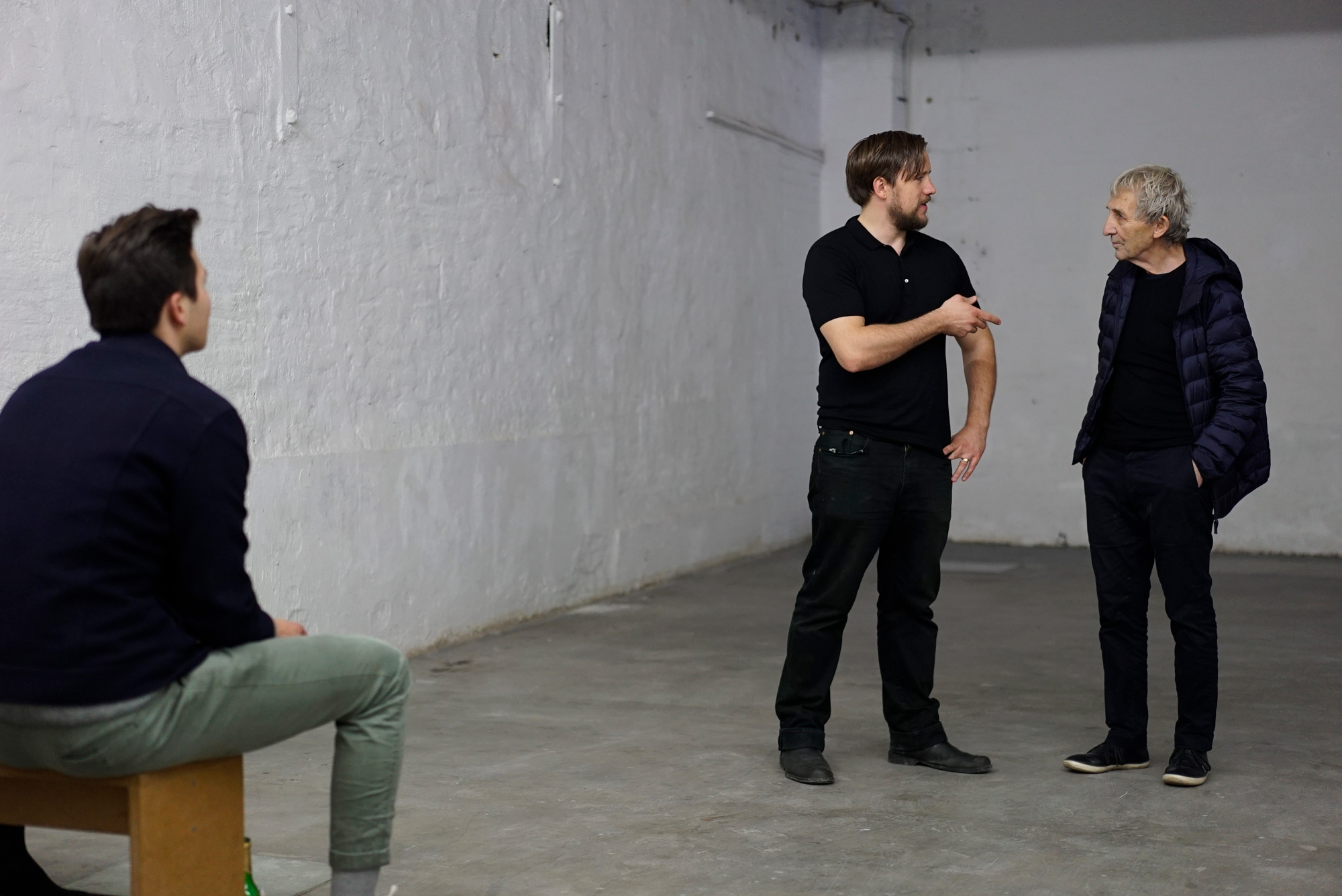 THE STORY OF GEORGE MACIUNAS AND FLUXUS by JEFFREY PERKINS - Stephan Machac mit Gespräch mit Jeffrey Perkins - 27.09.2019 Studio For Artistic Research Jeffrey Perkins Düsseldorf